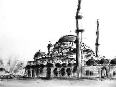 Viajes Estambul_dibujo